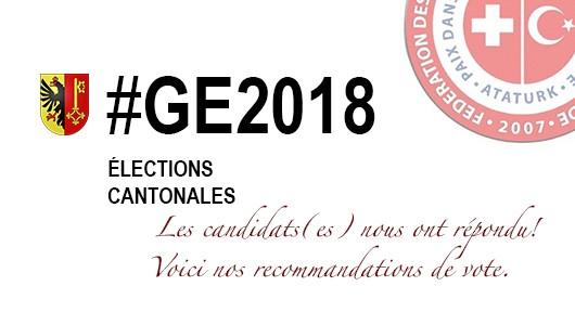 Elections cantonales 2018 - 2