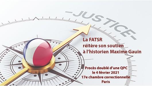 Diaporama – Maxime Gauin – procès 2021.02.04