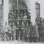 Prisonniers de guerre. Ici des officiers grecques - 1922