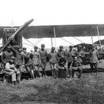 Aéronef grec et son personnel durant la guerre gréco-turque