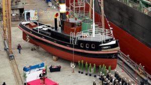 Kartal İstimbotu'nu, bir anıt gemi olarak sergilenmesi için, restorasyonu tamamlanmış haliyle, 13 Kasım 2018 tarihinde Türk Deniz Kuvvetleri'ne armağan edildi.