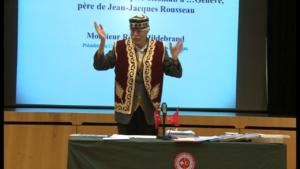 M. Rémy Hildebrand - Conférence Isaac Rousseau - 21.11.2012, Genève