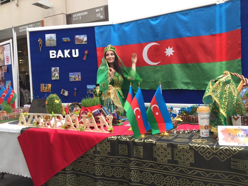 Le très beau stand de l'Azerbaijan - Global Village, édition 2019