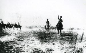 Cavalerie turque en campagne - 1922